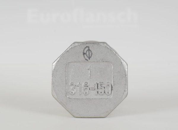 Euroflansch - Kappe